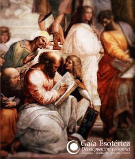 Pythagore peint par Raphaël