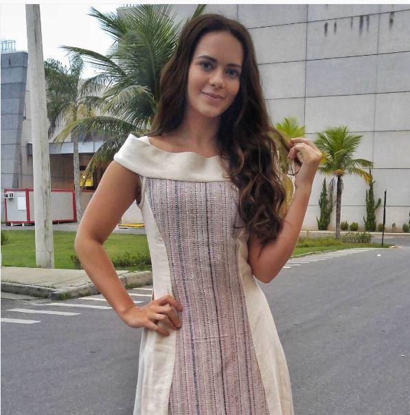 Vestido hebreia Livana (Leticia Medina ), A terra Prometida, figurino