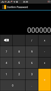 Smart Hide Calculator, Calculator