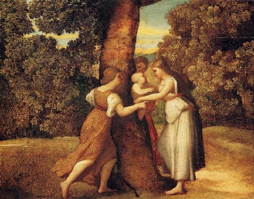 dipinto conservato al museo amedeo lia di la spezia
