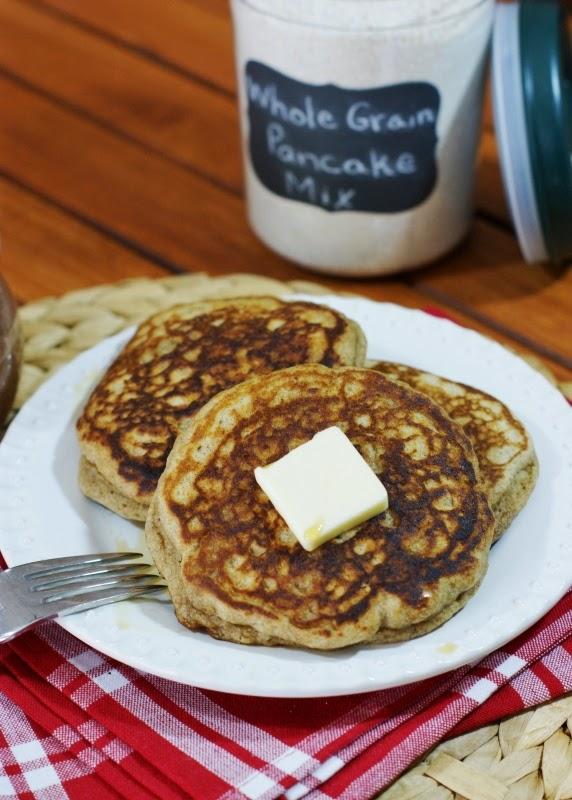 Whole Grain Pancake Mix my new goto mix The Kitchen is My