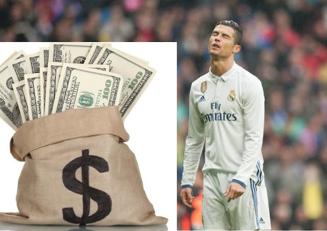 La fiscalía acusa a Cristiano Ronaldo de defraudar a Hacienda 14,7 millones de Euros
