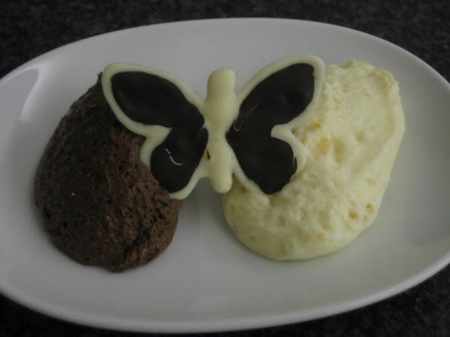 Mousse au chocolat mit Toblerone