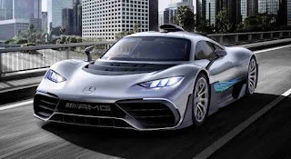 1,000-horsepower Mercedes-AMG Project One