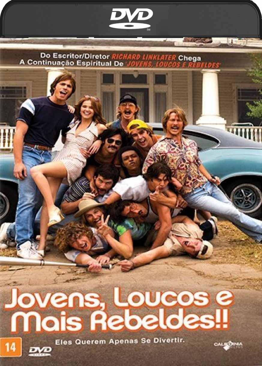Jovens, Loucos e Mais Rebeldes (2016) DVD-R Oficial