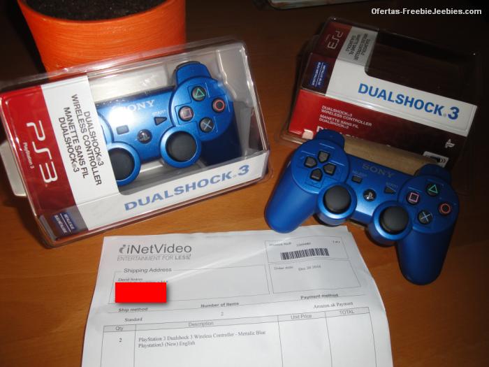playstation 3 slim comandos DualShock 3 Wireless azuis freebiejeebies prémios ofertas grátis ps3