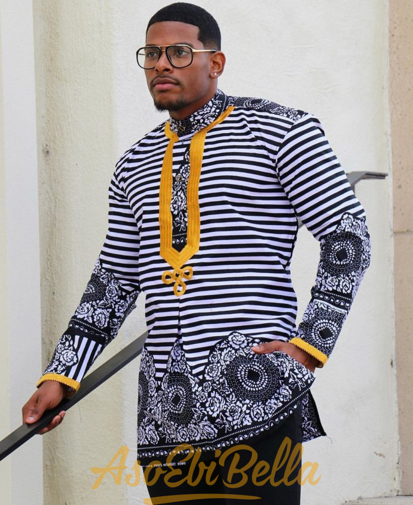 #EbFabLook Vol 42C Men: Try This New Aso-Ebi Style Worn From 1th To 10th January 2019