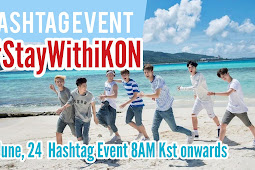 190624 #StayWithiKON Hashtag Event D-13