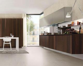Mẫu Tủ bếp Laminate HP15