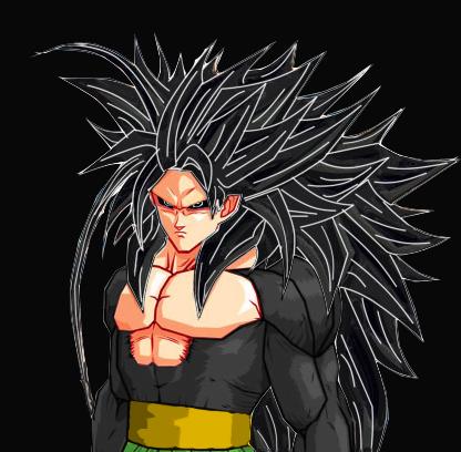 DRAGON BALL Z WALLPAPERS: Goku super saiyan 5