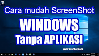 cara mudah screenshot laptop windows tanpa aplikasi