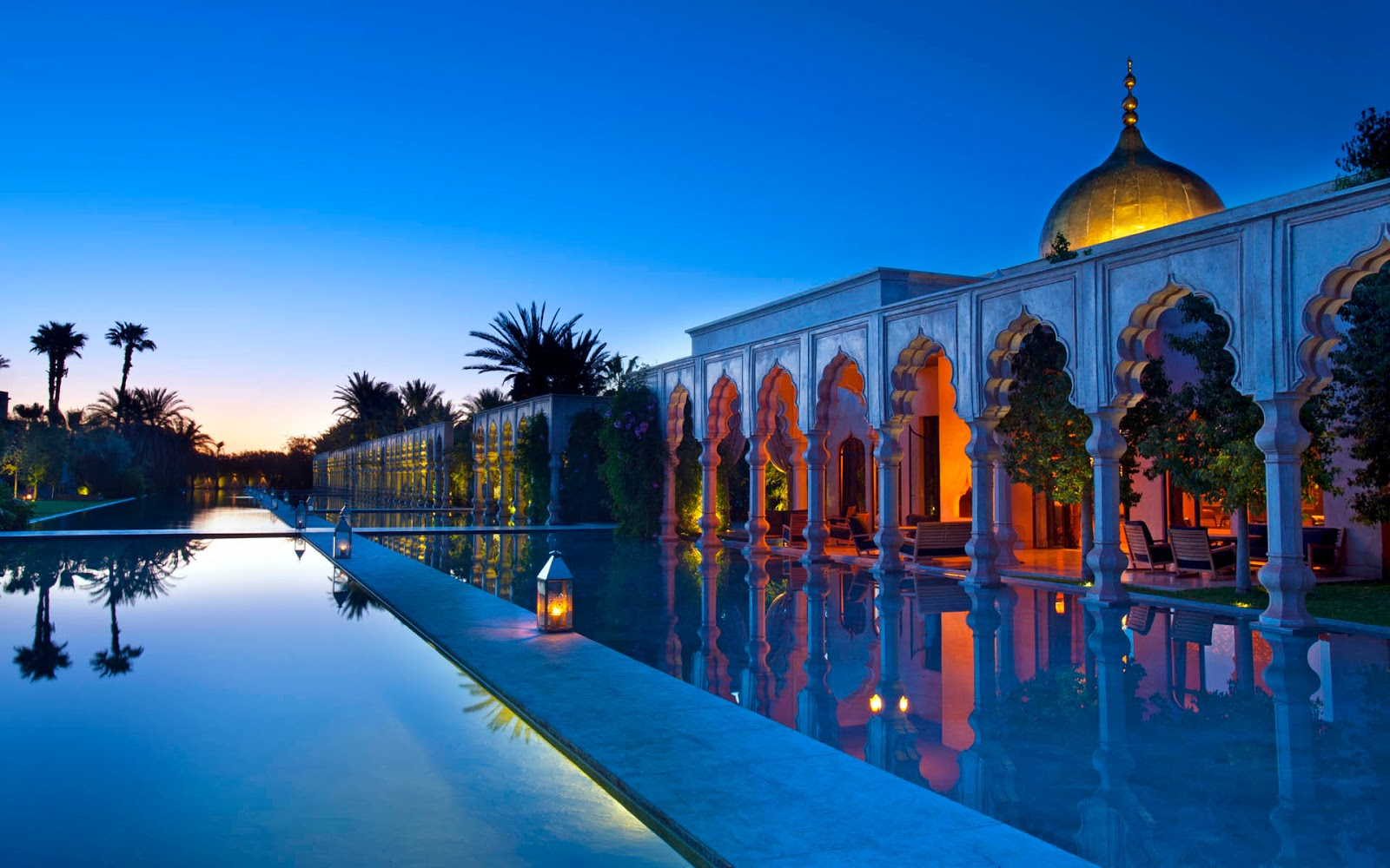 paket tour spanyol maroko