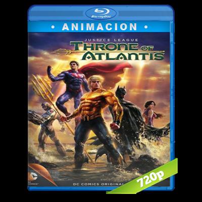 Liga De La Justicia El Trono De La Atlantida (2015) BRRip 720p Audio Trial Latino-Castellano-Ingles 5.1