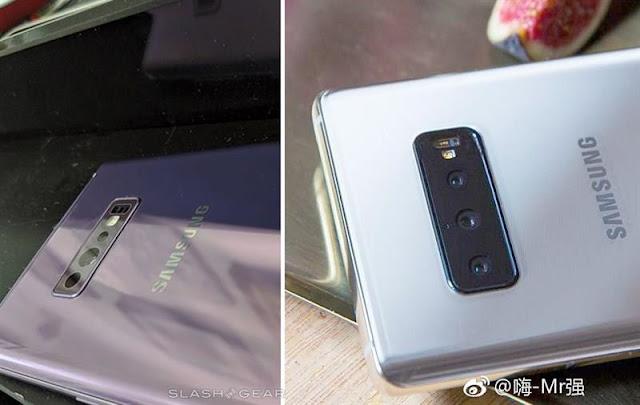 Galaxy S10 Plus lộ ảnh thực tế với 3 camera mặt sau