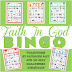 Faith In God BINGO Game