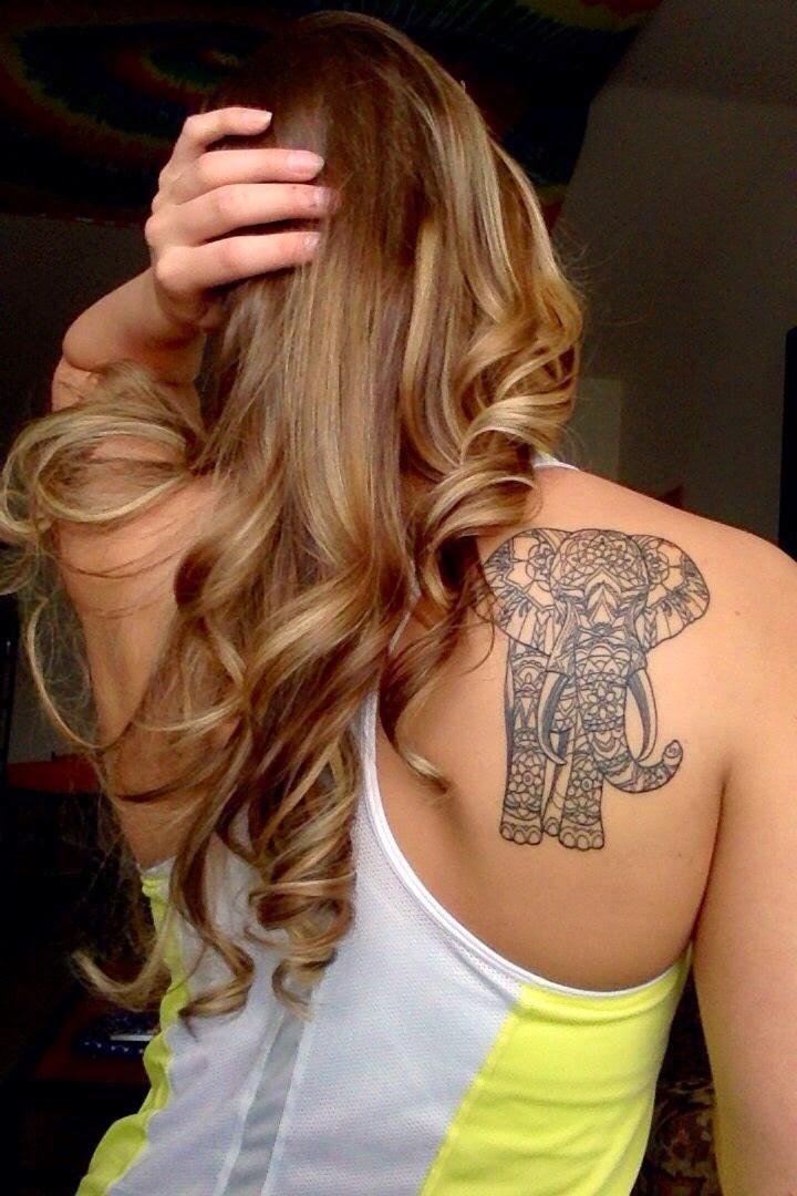 tatuajes de elefantes ideas poderes y simbolismo. Black Bedroom Furniture Sets. Home Design Ideas
