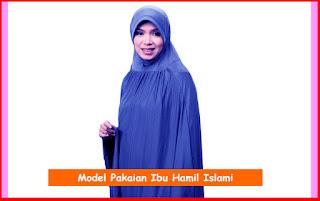 Tips Memilih Model Pakaian Ibu Hamil Islami