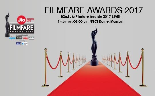 '62nd Jio Filmfare Award 2017' Sony Tv Upcoming Show Wiki ,Winner List,Promo,Watch Online