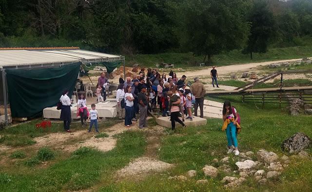Θεσπρωτία: Μικροί και μεγάλοι επισκέφτηκαν και γνώρισαν τον αρχαιολογικό χώρο Γιτάνων