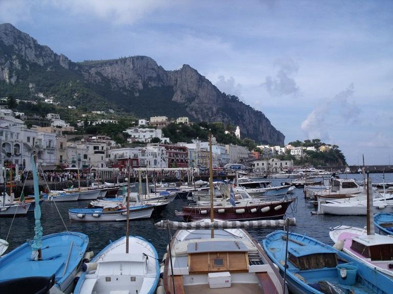 Marina, Capri, italy, caprese, getting to capri from Sorrento, from Naples, travel, sea stacks, view,