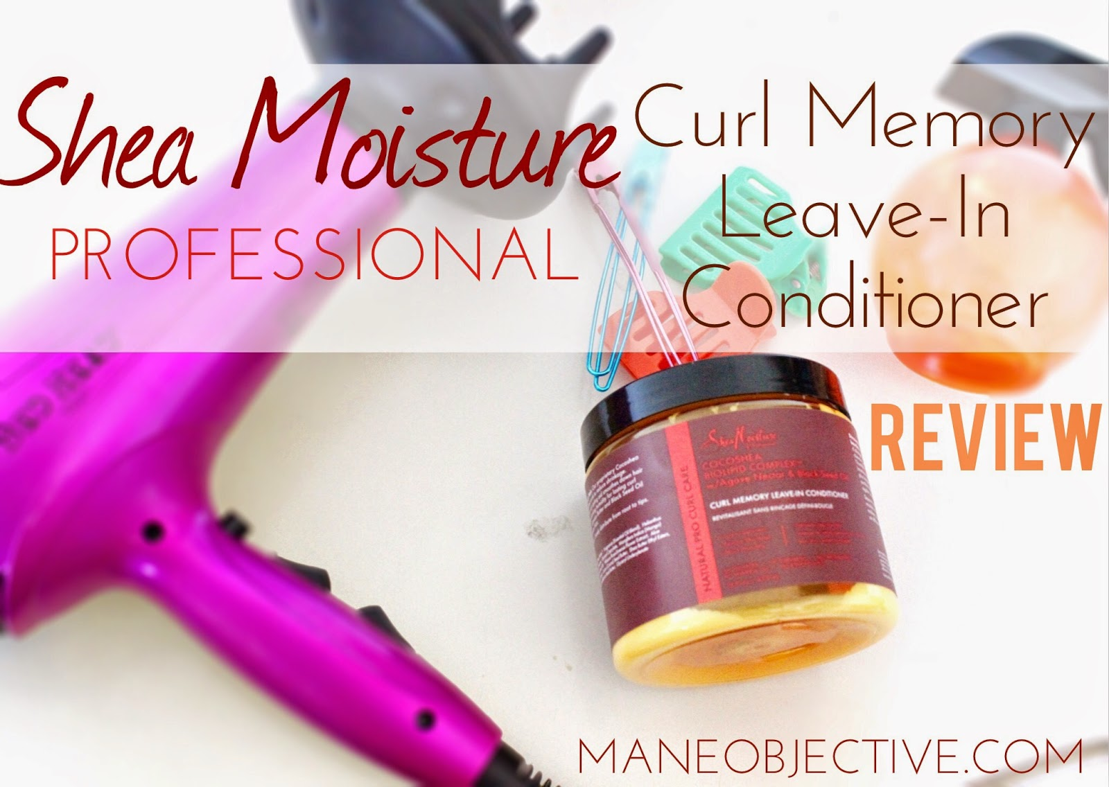 Shea Moisture Professional Curl Memory Leave-In Conditioner Review