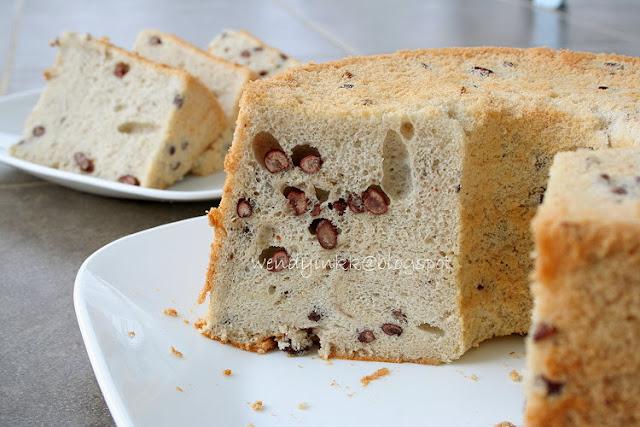 Coconut Milk Chiffon Cake Recipe