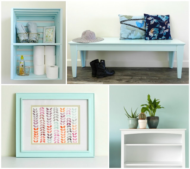 Decorating in Blue: Grow Creative Blog