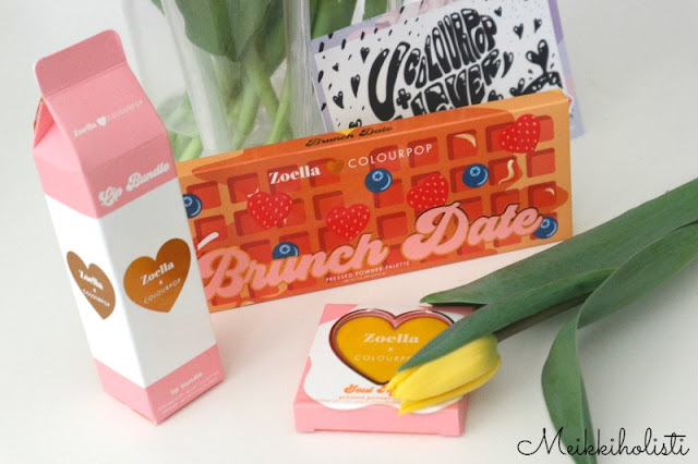 ColourPop Zoella Brunch Date