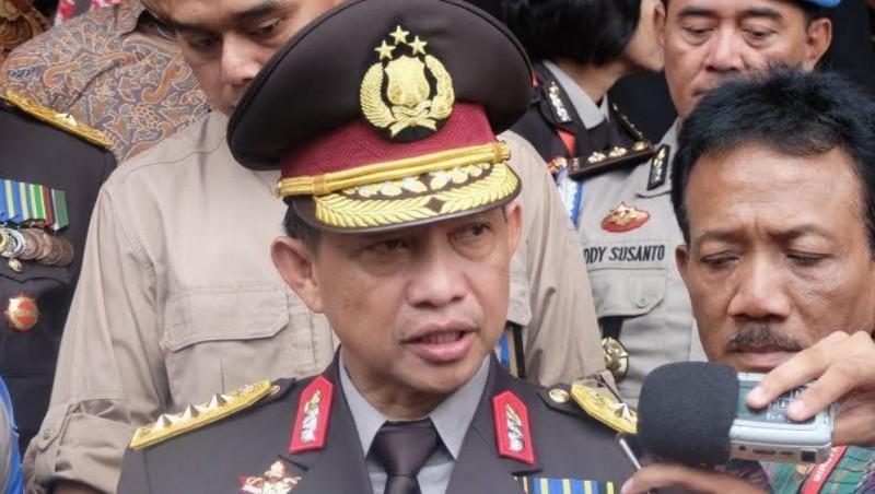 Komjen Tito Karnavian usai upacara HUT Bhayangkara