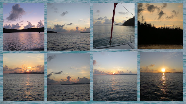 Sailing in the Whitsundays - Sunrise over Whitehaven Beach