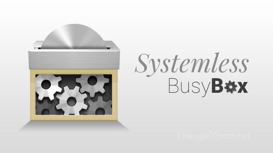Systemless Busybox Install