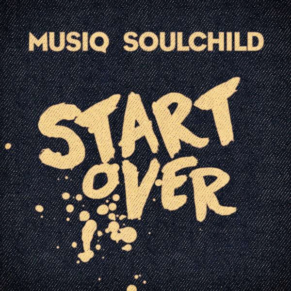 Musiq Soulchild - Start Over - Single Cover