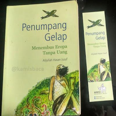 Cover Novel Penumpang Gelap Karya Alijullah Hasan Jusuf