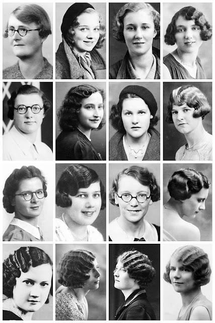 Amazing Vintage Portrait Photos Depict Women S Hairstyles