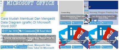 Cara Membuat Featured Post Di Homepage Blog