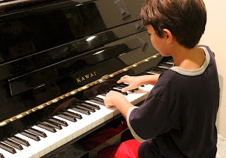 To start piano lessons this age is appropriate