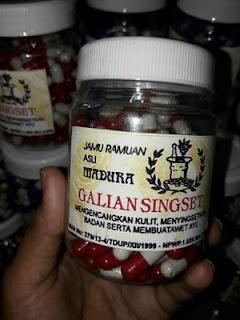 KAPSUL GALIAN SINGSET CAKRANINGRAT