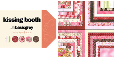Moda KISSING BOOTH Quilt Fabric by Basic Grey