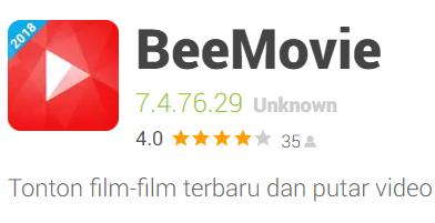 Pulsa Gratis Beemovie app