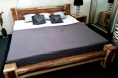 postele Reaction, postele ze dřeva, postele z masivního dřeva
