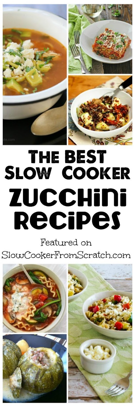 The BEST Slow Cooker Zucchini Recipes - Slow Cooker or ...
