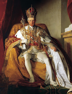 Maria Theresa's husband, Francis, after he became Emperor Franz I of Austria
