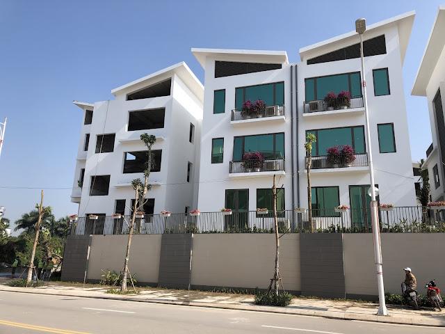 Biệt thự Khai Sơn Hill đang được hoàn thiện