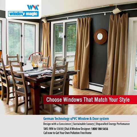 UPVC Windows and Doors Manufacturers Get modern uPVC windows for
