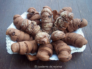 Panecillos de chocolate