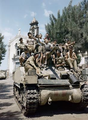 Fotografías inéditas de la Segunda Guerra Mundial a color