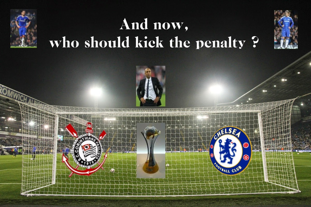 And now, who should kick the penalty?