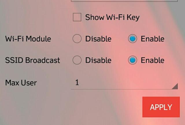 Cara Setting Andromax Wifi 4G LTE