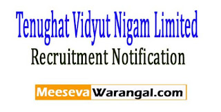 TVNL (Tenughat Vidyut Nigam Limited) Recruitment Notification 2017