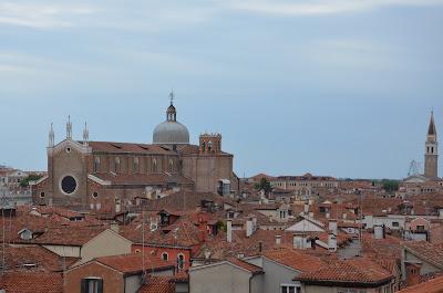Vue sur les toits de Venise